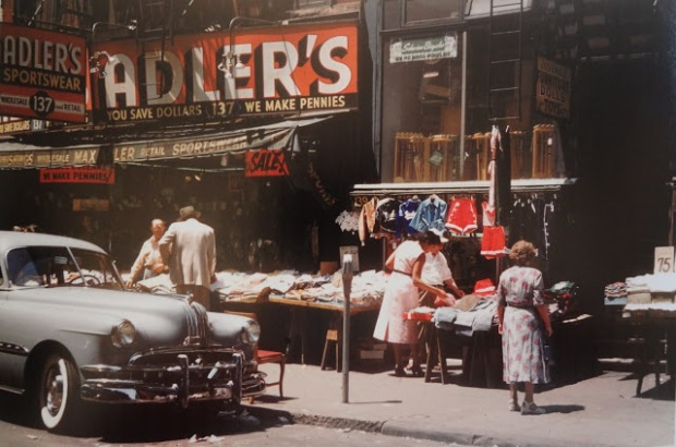 Orchard St / Lower East Side / NYC / 1953