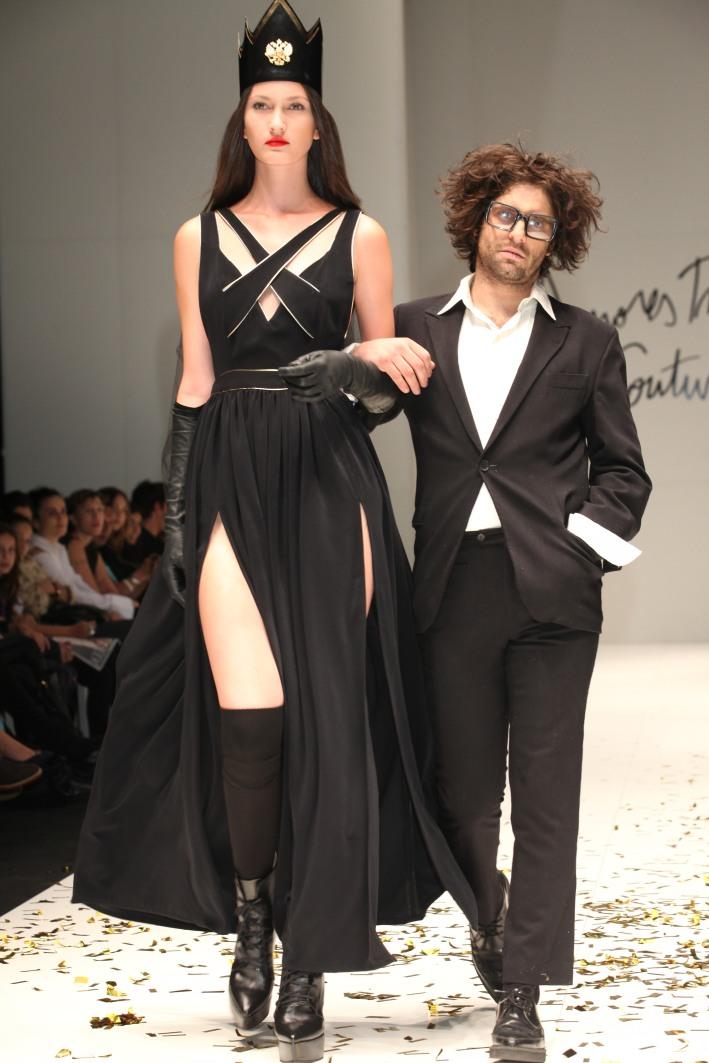 amores trash couture desfile 2014